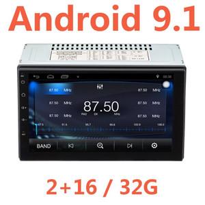 2G 16 32G Android 9.1 2Din Car Radio 7Inch 2 Din Gps Autoradio AM FM Multimedia Double 2 Din Bluetooth Car Stereo USB vintage