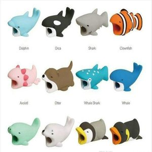 Head Bites Phone Cord Cable Cartoon Toyl Charging Mini Design Mobile For Usb Fashion Cable Animal Holder Phone Shockproof Protector yxlYU