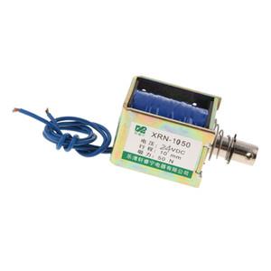 DC 24 50N / 10 mm 5kg Open Frame actionneur électrique Push Pull Solenoid Electroaimant