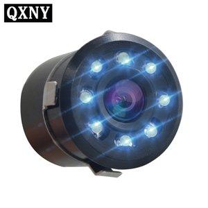 자동차 후면보기 미니 카메라 자동 8 LED 나이트 비전 반전 자동 주차 모니터 CCD 방수 150 학위 HD 비디오 18mm 개방