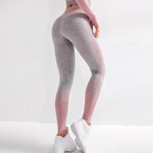 Squat için Antibom Spor Yoga Pantolon Kadınlar Dikişsiz Gym Tozluklar Yüksek Bel Karın Kontrol Spor Kalça Kaldırma