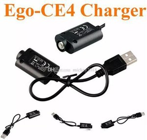 ce3 ce4 Ego USB Charger usb cable Electronic Cigarette E Cig Chargers for Ego T Ego c EVOD twist vision spinner mini battery