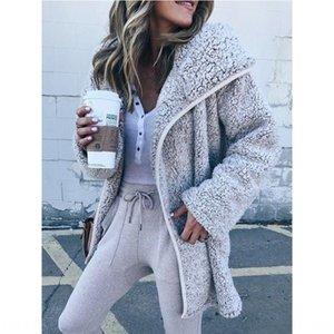 Hot Sale windbreaker fur coat autumn and winter plush windbreaker lamb fur coat