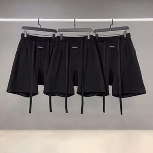 High quality high street fashion brand Fear of god Season 6 long ribbon shorts cropped pants
