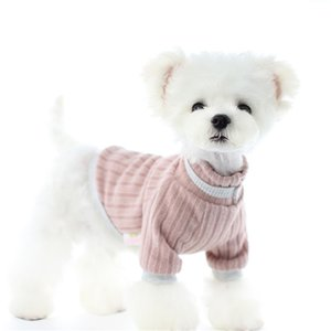 Fashion Pet Sweaters Designer Winter Warm Soft Cat Dog Coats Schnauzer Poodle Teddy Bichon Bulldog Jacket