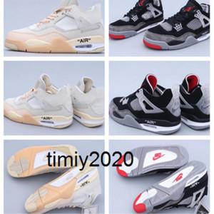 Piel de serpienteJordánRetro 4 4s de los zapatos de baloncesto SP WMNS vela blanca Negro Rojo Gris aj 4 offwhites de lujo de Trainer CV9388-100