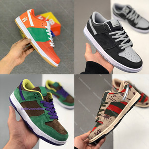 Dunk SB Low Plum Stussy ISO Strangelove Medicom Toy Brazil 7 eleven J PACK SHADOW Roswell Raygun Civilist Thermography Basketball Sneakers