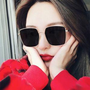 UV400 For Sunglasses For Glasses Eyewear 2020 Vintage Oversized Women Sunglasses Goggle Square Fashion New Sun Women Ocrhx