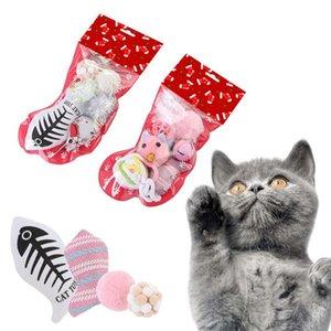 Mice Gatti pesce palla peluche Giocattoli Riempito di Natale che immagazzina regalo Supplies Set di animali