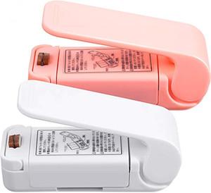 Tragbare Mini-Tasche resealer Mini Sealing Hand Heat Sealer für Plastiktaschen Food Storage Taschen halten Lebensmittel frisch HHD1558