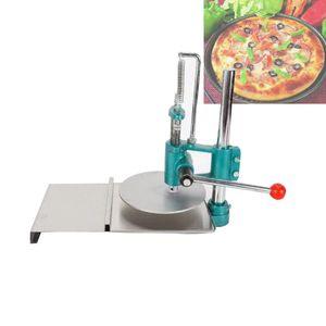 inoxidável steelHand-agarrando a pizza máquina da massa de pastelaria prima máquina torta de carne pressionando massa machineHousehold bolo de prensagem