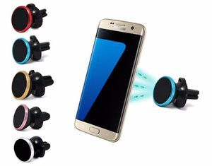 Universal Car Holder 360 Rotation Air Vent Mount Magnet Mobile For iPhone Samsung GPS Bracket Stand Support 100pcs lot