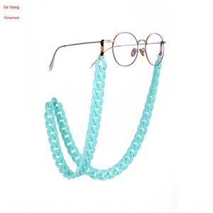 JNsqf Sun óculos nonskid Anti-skid anti-skid pendurado no pescoço antiderrapante cadeia pendurado corda fashion internet cadeia feminina olho óculos de sol vermelhos