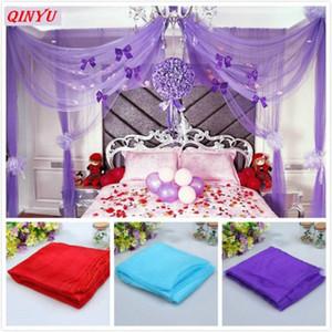 10m * 48 centímetros Tulle Cristal Organza tule Tecido fundo Romantic Wedding Neve Yarn Wedding rolo Decoração 6zSH015-1 oNQ6 #