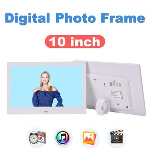 "10 Inch LCD LED TFT Digital Photo Frame 1024*600 Gift Digital Photo Frame Electronic Picture Music Movie 10""MP4 Player"