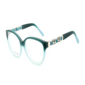 MONGOTEN Ретро Женщины мода Full Rim Ацетат асферических линзы Оптические очки Антибликовый Goggle Reading очки женщины