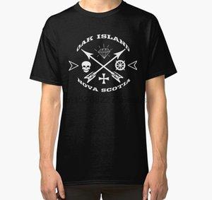 Männer-T-Shirt Eichen-Insel-T-Shirt Schatz-Jäger Nova Scotia Geheimnis T Shirt Frauen-T-Shirt T-Shirts Top