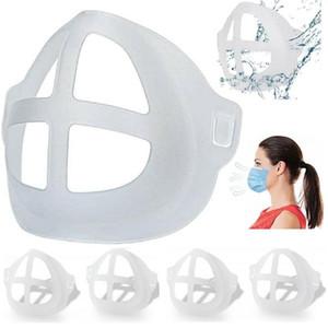 3D Máscara soporte reutilizable Protección del lápiz labial ayuda del soporte del interior de la nariz Aumentar Breathing Space boca cubierta del sostenedor