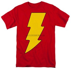 Shazam la camiseta del logotipo