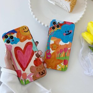 Classy Pittura Case New Designers iPhone 11 Caso Pro Max Per i11 MAX XR caso di X Animal 8 7 6sPlus TPU