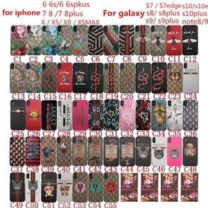 갤럭시 s10plus note8 9 S7 / S8 / s9plus 하드 커버 iPhone11 11PROMAX X XS XR XSMAX 7 6S 5S 호화 자수 호랑이 뱀 꿀벌 들어