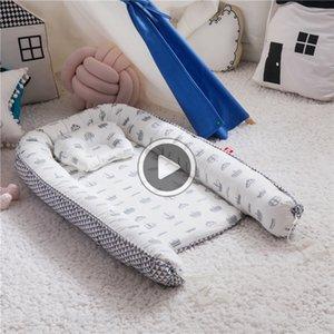 Faltbare abnehmbar und waschbar portable anti-Druck Baby ow Bett bionische Krippe vollständig separate Babyreisebett ow