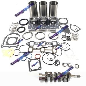 D902 коленчатого вала двигателя D902 прокладка комплект шатун соединительный стержень комплект подшипник для Kubota D902 дизельный двигатель запасных частей