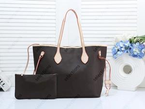 Высокое качество Классический Женщины Pu кожа 2pcs / комплект цветок сумка сумка Креста тела сумка плеча сумки кошелек с Кошельком