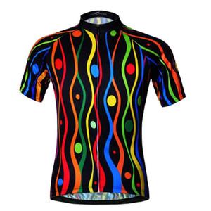 사이클링 저지 짧은 소매 자전거 셔츠 여름 새로운 프로 팀 MTB 자전거 Jeresy 사이클링 의류 통기성 로파