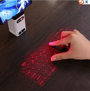 Новые Лазерные проекции Virtual Laser Keyboard Мобильный телефон Bluetooth беспроводной сенсорный экран Проекционный Инфракрасный Управление Портативный клавиатуры