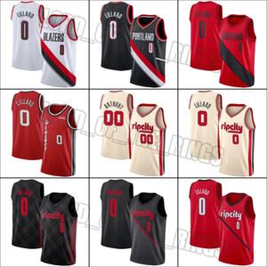 PortlandTrail Blazers0 DamianLillard Jersey 00 CarmeloAnthony Formalar Basketbol Forması