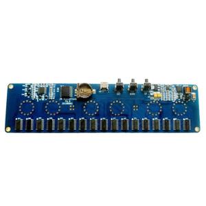 5V 1A Electronic DIY Kit In14 Nixie Tube Digital LED Clock Gift Circuit Board Kit PCBA, No Tubes