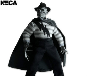 """NECA SDCC Cloth Doll A Nightmare on Elm Street Freddy Krueger Doll PVC Edition Action Figure Collectible Toy 8"""" 19cm"""