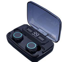 Auriculares inalámbricos original M11 TWS Bluetooth 5.0 en la oreja los auriculares de reducción de ruido de alta fidelidad Auriculares IPX7 impermeable para deportes