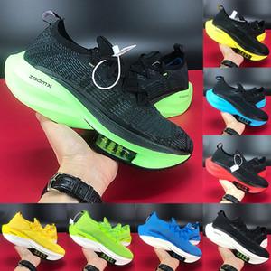 Yeni En moda siyah elektrikli yeşil yetiştirilen tur sarı beyaz turuncu sinek erkekler kadınların spor ayakkabısı ABD 5,5-11 koşu ayakkabıları alfa sonraki% Büyütmek