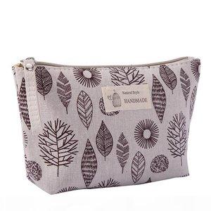Multi-function Travel Convenient Makeup Handbag Waterproof Zipper Wallet Canvas Key Mobile Phone Bag Makeup Laundry Bag 2019
