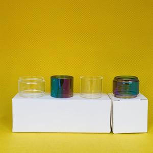 Aspiire Atlantis EVO 4 ml Tanque claro do arco-íris normal bulbo de vidro tubo de substituição 1pc / caixa 3pcs / 10pcs / caixa pacote de varejo