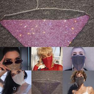 Lunettes de soleil Halloween Mirror Diamond Frame femmes Mask Big Uv Lunettes surdimensionnée CkRPB Protection des yeux Noir MenLuxury strass Ampjo