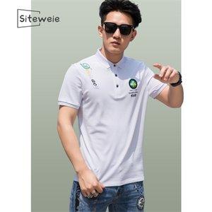 2020 New T Shirt Men Top Quality Cotton Tshirt Casual Short Sleeve Print Mens T-shirt Fashion Cool T Shirt For Boyfriend Gift L9 0924