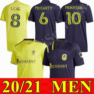 2020 2021 homens Nashville SC futebol jerseys 20 21 mls Nashville hany mukhtar zimmerman casa longe camisa de futebol enfants leal mccarty uniforme