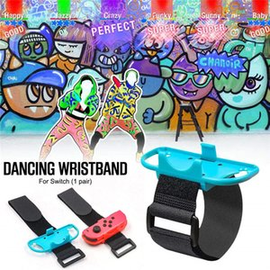 2pcs Switch controller Wristbands just dance joy-Con gamepad wristband Adjustable dancing Game joystick Wristbands for Switch joypad