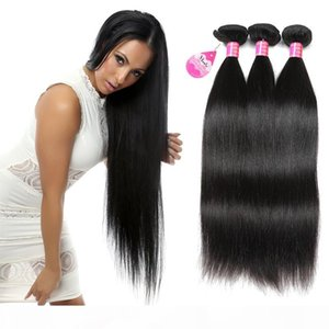 Wholesale Price Brazilian Straight Hair Bundles 3pcs Peruvian Malaysian Indian Straight Hair Weaves Unprocessed Cheap Human Hair Extensions