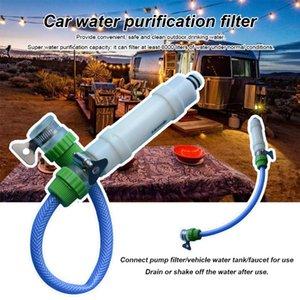 Accessoires Voyage universel anti-bactérien Car Wash Pump Outil de nettoyage extérieur Camping Réduire Turbidité Pour RV Filtre à eau