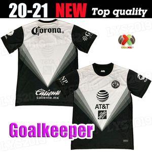 2020 2021 Club America GK Soccer Jersey 20 21 F. Viñas Henry G. Ochoa Rodriguez América Jersey Giovani حارس مرمى كرة القدم