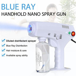 2020 New Hot Handheld Electric Hair Nano Spray Gun Blue Ray Disinfectant Sterilizer 1200W Big Power Household Cleaning Tools