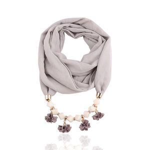 Воротник ожерелье Заявление Beads Ahmed шарф Женщины Подвеска Модные цветы ювелирные изделия Геометрическая для нового богемского ожерелья clOex bdehome
