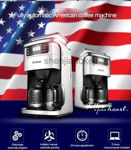 Коммерческая автоматическая кофемашина KF800 бытовой измельчении фасоль кафе Американской машины капельного кофе 900W 1шт