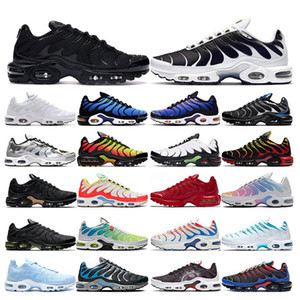 2020 tn plus running shoes mens White Volt black Hyper Psychic blue Oreo Purple womens Breathable fashion sports trainers outdoor sneakers