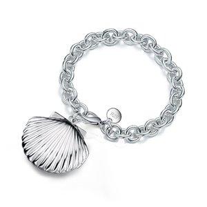 Shell Design Photo Frame шарма для женщин цвета серебра медальона 2020 Jewelry Summer Fashion Мемориальной Подарок Дружба