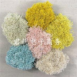dGgt8 imitação antigo DIY1mm Diy Pérola Pérola Flor simulação núcleo de proteção ambiental flor gesso core / Rose DIY pacote de material